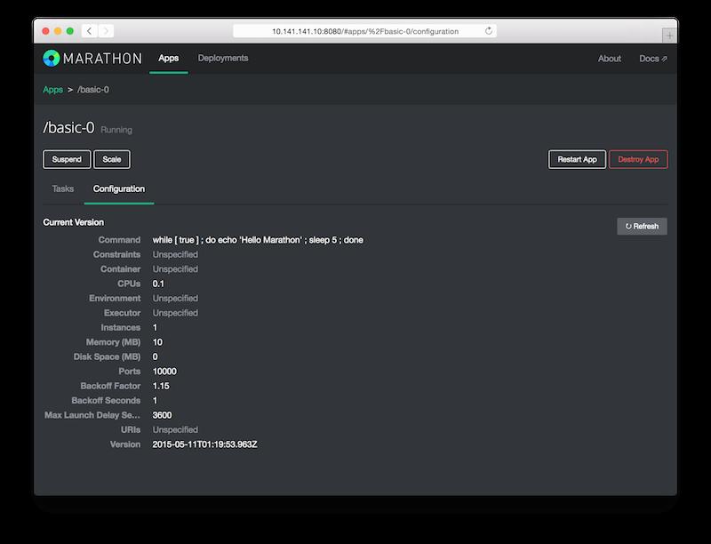 Marathon: Application Basics
